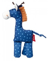sigikid knuffeldier giraf blauw 41669