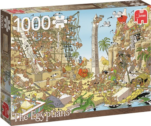 Jumbo puzzel Geschiedenis -  The Egyptians - 1000 stukjes