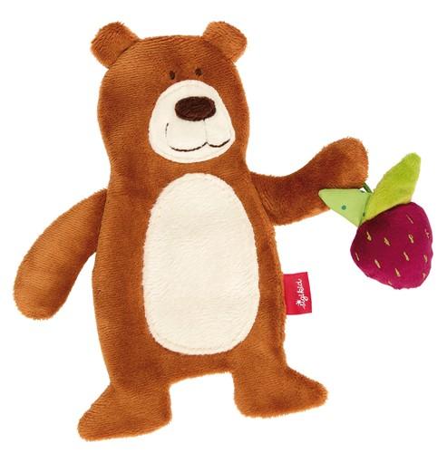 sigikid Activiteiten knuffeldoekje beer, PlayQ