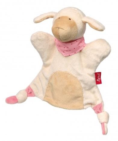 sigikid Handpop-knuffeldoekje schaap, Soft & Play