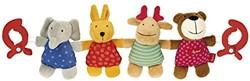 Sigikid  box en maxi cosi speelgoed Wagenspanner Tiere 94540