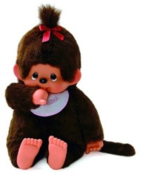 Monchhichi  knuffelpop Girl - 80 cm
