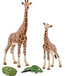 Schleich  Giraffevrouw met baby 42320