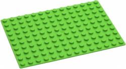 Hubelino  knikkerbaan accessoires Groene grondplaat 140 noppen
