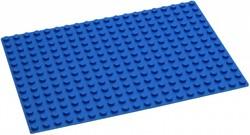 Hubelino  knikkerbaan accessoires Blauwe grondplaat 280 noppen