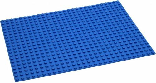 Hubelino  knikkerbaan accessoires Blauwe grondplaat 560 noppen