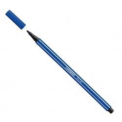 Stabilo  teken en verfspullen pen 68 donkerblauw