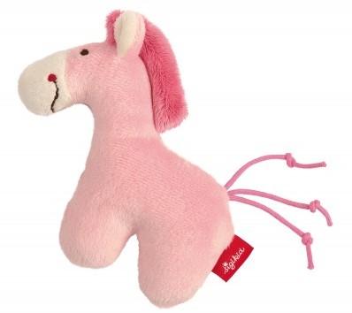 sigikid Mini rammelaar eenhoorn roze Red Stars 42188
