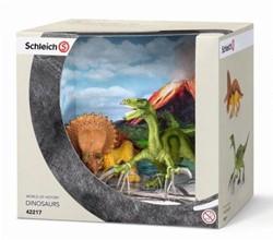 Schleich Dinosaurussen - Triceratops En Therizinosaurus Klein 42217