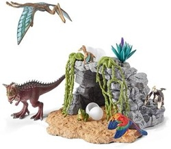 Schleich Dinosaurs - Dinosaurusset + Grot  42261