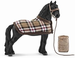 Schleich Horse Club - Horse Care Set, Frisian 42269