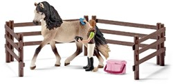 Schleich Horse Club - Horse Care Set, Andalusian 42270