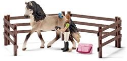 Schleich Paarden - Andalusische Paardenverzorgingsset 42270