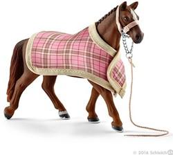 Schleich Paarden - Deken En Hoofdstel 42286