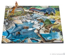 Schleich Dinosaurs - Mini Dino'S Met Drinkplaatspuzzel 42330