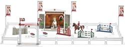 Schleich Horse Club - Groot Wedstrijdtoernooi Met Paarden  42338
