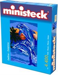 Ministeck knutselspullen dolfijnen 4300 stukjes