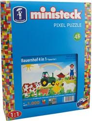 Ministeck Boerderij 4-in-1 - 1000 stukjes