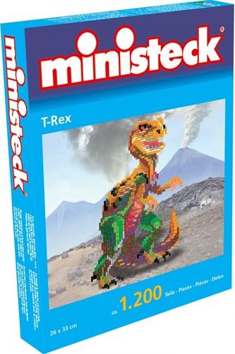 Ministeck T-Rex dinosaurus - 1200 stukjes