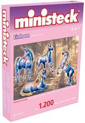Ministeck Eenhoorn 4-in-1 - 1200 stukjes