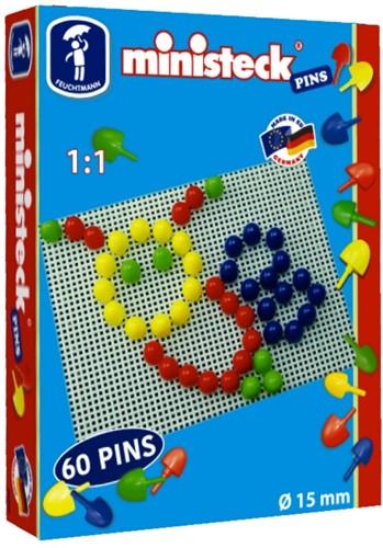 Ministeck 60 Pins 15mm doorsnede