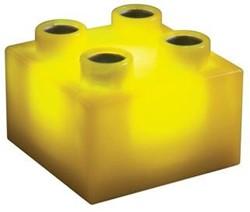 Light Stax  constructie speelgoed geel 2x2 6 stuks