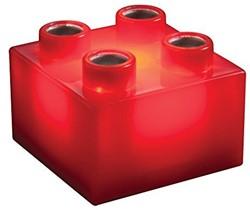 Light Stax  constructie speelgoed rood 2x2 6 stuks