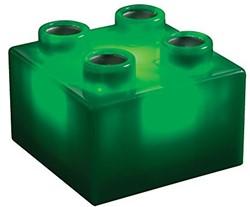 Light Stax  constructie speelgoed groen 2x2 6 stuks