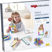 Haba Education - Figure Pegging Game