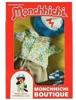 Monchhichi  knuffelpop kleren Boutique A Print Shirt & Baseball Cap
