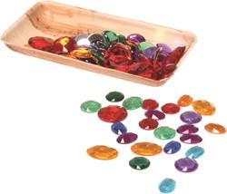 Grimm's 100 Acrylic Glitter Stones