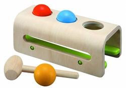 Plan Toys  houten leerspel Hammer Balls