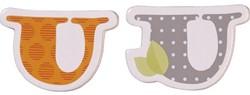 Haba  decoratie houten letter U