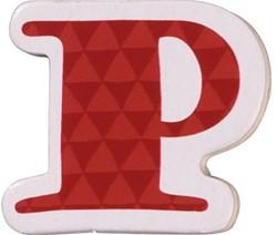 Haba  decoratie houten letter P