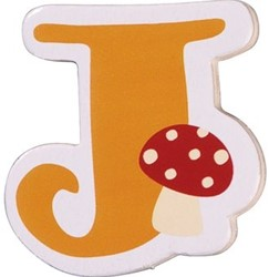 Haba  decoratie houten letter J