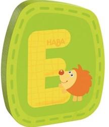Haba  decoratie houten letter E