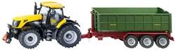 Siku 1:87 JCB Traktor met aanhanger 1855