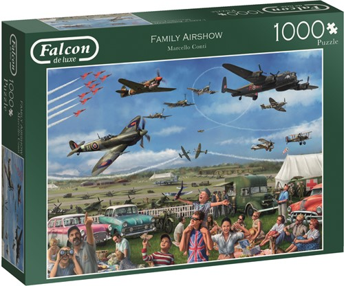 Jumbo puzzel Falcon Family Airshow - 1000 stukjes