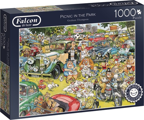 Jumbo puzzel Falcon Picnic in the Park - 1000 stukjes