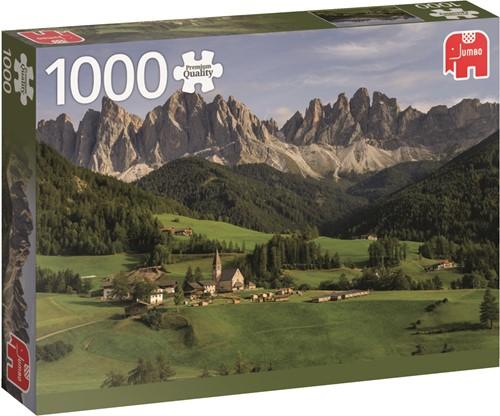 Jumbo puzzel Dolemites, Italy - 1000 stukjes