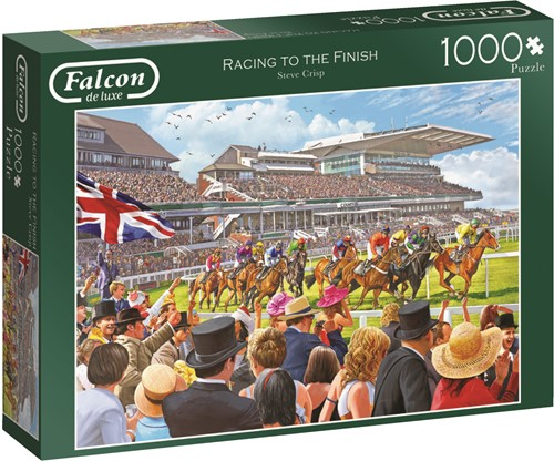 Jumbo puzzel Falcon Racing to the Finish - 1000 stukjes