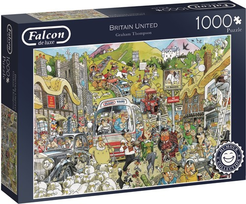 Jumbo puzzel Falcon Britain United - 1000 stukjes