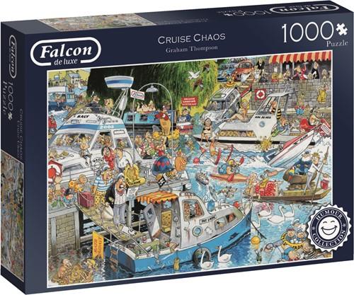 Jumbo puzzel Falcon Cruise Chaos - 1000 stukjes