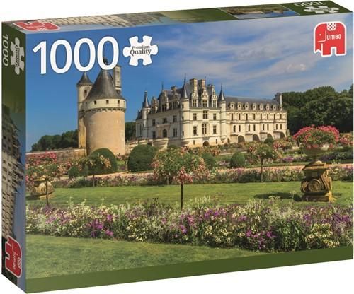 Jumbo puzzel Frankrijk -  Castle in the Loire - 1000 stukjes