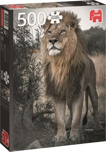 Jumbo puzzel Proud Lion - 500 stukjes