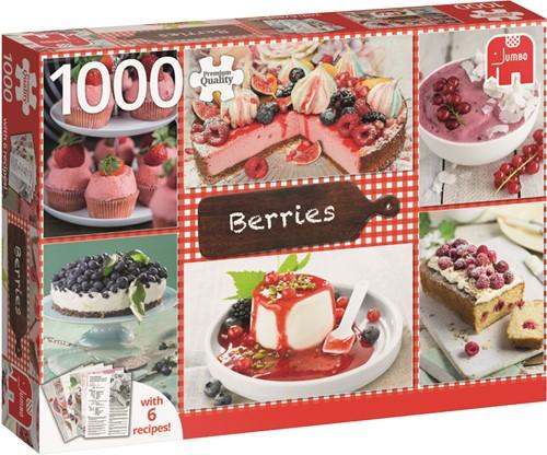 Jumbo puzzel Bessen met 6 recepten - 1000 stukjes