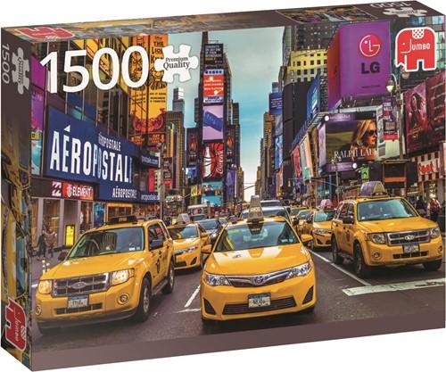 Jumbo puzzel New York Taxi - 1500 stukjes