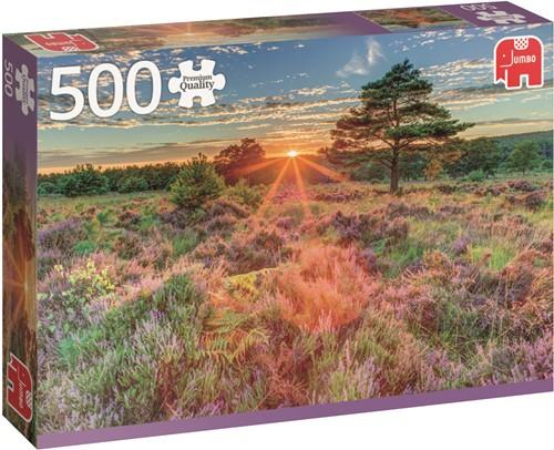 Jumbo puzzel Heather at Sunset - 500 stukjes