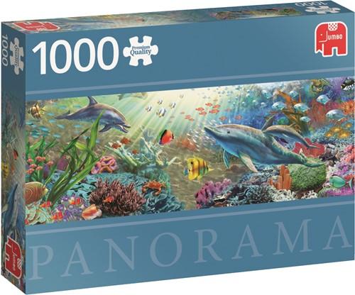 Jumbo puzzel Water Paradise - 1000 stukjes panorama