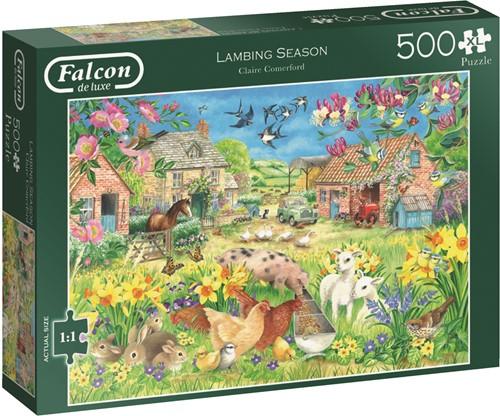 Jumbo puzzel Falcon Lambing Season - 500 XL stukjes